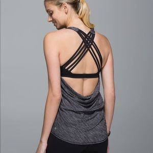 Lululemon Wild Tank with Built in Sport Bra